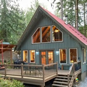 99mbr Woodsy Cabin W/ Hot Tub +WiFi
